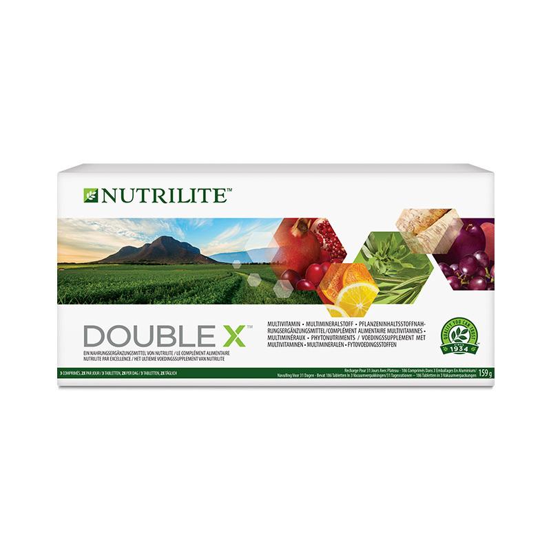 Vitaminen, Mineralen en Fytovoedingsstoffen DOUBLE X - 186 tabletten - 31 dagen