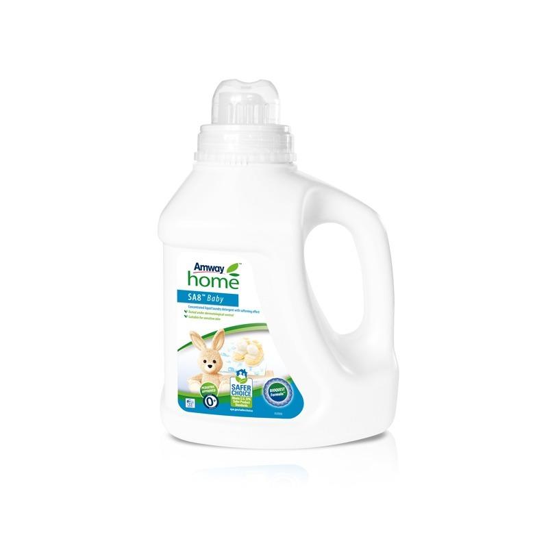 Lessive Liquide Concentrée à effet adoucissant SA8™ Baby - 1 L.